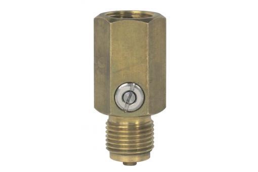Гаситель пульсации. Дроссель для средств измерения давления Модель Eg-латунь, углеродистая или нержавеющая сталь.
