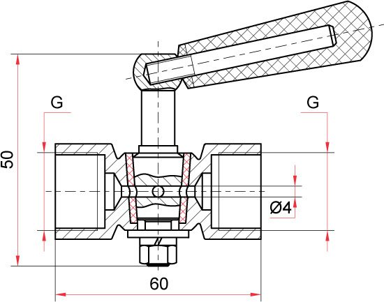 трехходовой кран для манометра