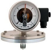 Электроконтактные манометры с магнитомеханическими контактами для малых давлений
