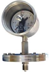 Электроконтактные манометры взрывозащищённые для малых давлений Рвexdi Х, 1exdiibt4 Х