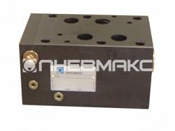 Компенсатор давления прямого действия 2х или 3х линейный с фиксированной или регулируемой настройкой Cetop 08 Pcm8