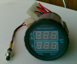 Цифровой индикатор температуры двигателя Цитд-3