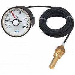 Манометрический термометр с микропереключателем