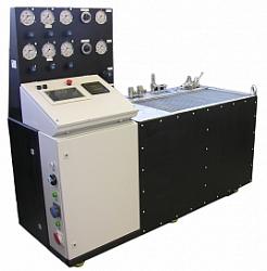 Стенд для приемо-сдаточных испытаний серийных гидроагрегатов - электрогидравлических блоков управления