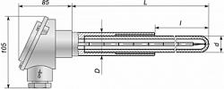 2.2. Преобразователи термоэлектрические платиновые Ттпп-53-3 и Ттпр‑53-3