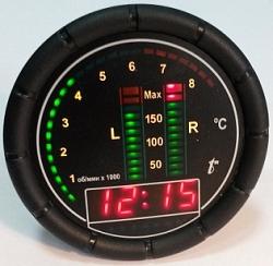 Цифровой индикатор температуры двигателя Цитд-6