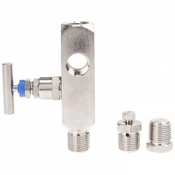 Игольчатый клапан и многопортовый клапан