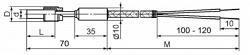 Тха(тхк)/1-1388. Преобразователи Термоэлектрические Хромель-алюмелевые, Хромель-копелевые