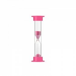Часы песочные в Пвх тубусе (1 мин)