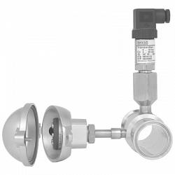 983 Трубный мембранный разделитель со стерильным присоединением к процессу. Встроенный датчик измерения температуры