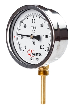 Общетехнические биметаллические термометры Тбф-120 d.100