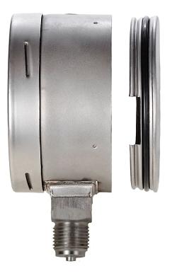 Вакуумметры, мановакуумметры, манометры виброустойчивые коррозионностойкие Дв8008-вуф Кс, Да8008-вуф Кс, Дм8008-вуф Кс S (безопасное исполнение)