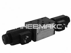 Распределитель гидравлический клапанного типа с электромагнитным управлением в модульном исполнении 4401-03 (cetop 03) Mdt