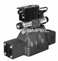 Распределитель гидравлический с пилотным электронным пропорциональным управлением и интегрированным электронным блоком Cetop P05/r05/07/08/10 Dspe*g
