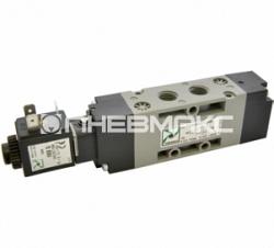 Распределитель пневматический с электромагнитным управлением T424